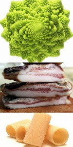 Paccheri cacio e pepe con broccoli e guanciale