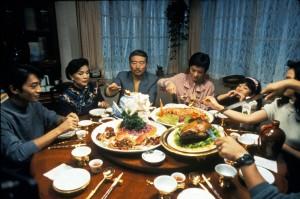 Yin shi nan nu (1994 Taiwan/US) aka Eat Drink Man Woman  Directed by Ang Lee  Shown: Dinner scene